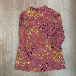 Zara Girls Floral Print Dress (Size 9)